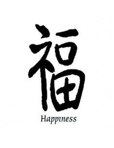 Kanji znak Happiness -...