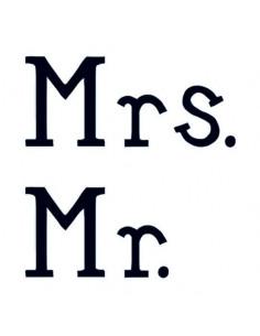 Mr. a Mrs. - svatební...
