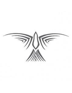 Šedý pták - tribal...