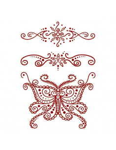 Červený motýl a další...