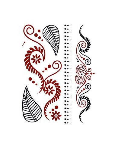 Červenočerné motivy 2 - henna...