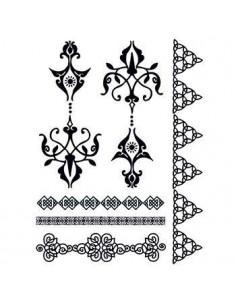Černé motivy v gothic stylu...