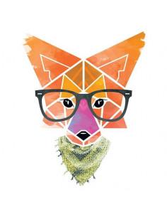 Hipster geometrická liška -...