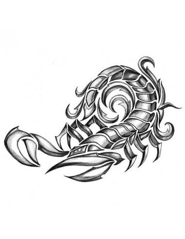 Škorpion - velké tribal nalepovací...