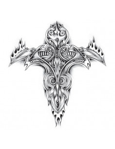 Hořící kříž - velké...