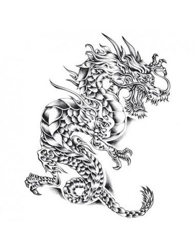 Rozzuřený drak - velké nalepovací...