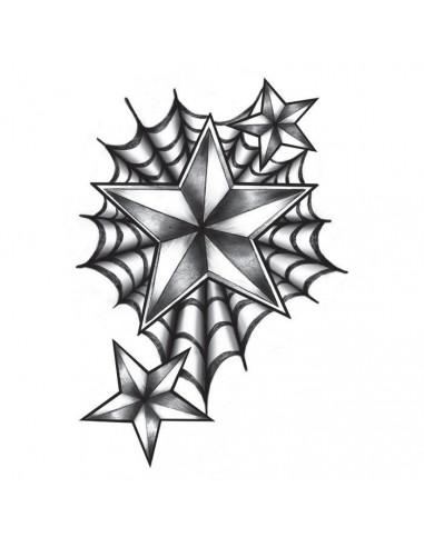 Pavučina a námořnické hvězdy - velké...