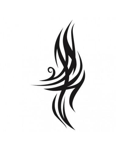 Tribal motiv - velké nalepovací tetování