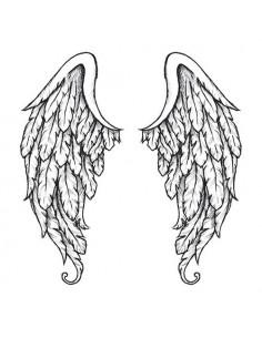 Andělská křídla na záda -...