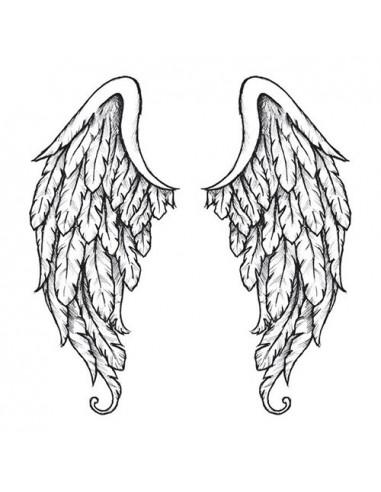 Andělská křídla na záda - velké...