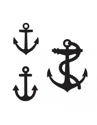Tři kotvy - nalepovací tetování