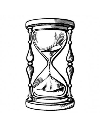 Přesýpací hodiny - nalepovací tetování