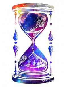 Galaktické přesýpací hodiny...