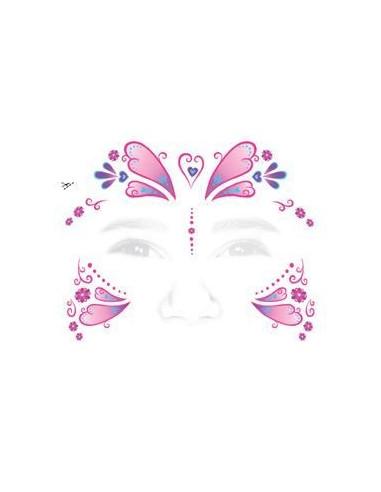 Motýlí princezna - nalepovací...