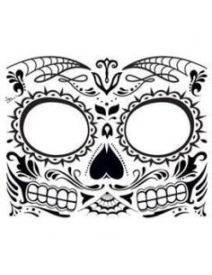 Halloweenská maska svítící...