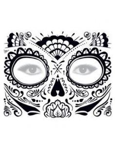 Třpytivá halloweenská maska...