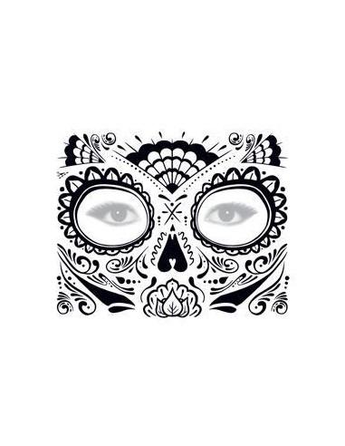 Třpytivá halloweenská maska -...