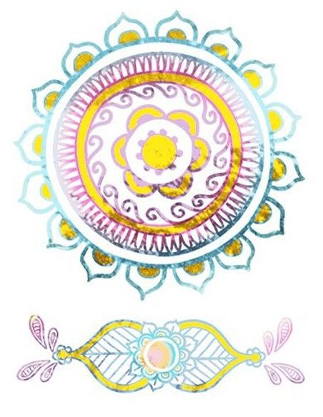Mystické motivy a mandaly